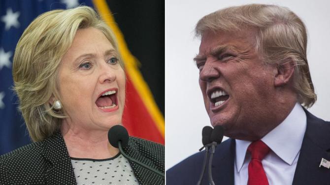 Los dos candidatos están prácticamente empatados