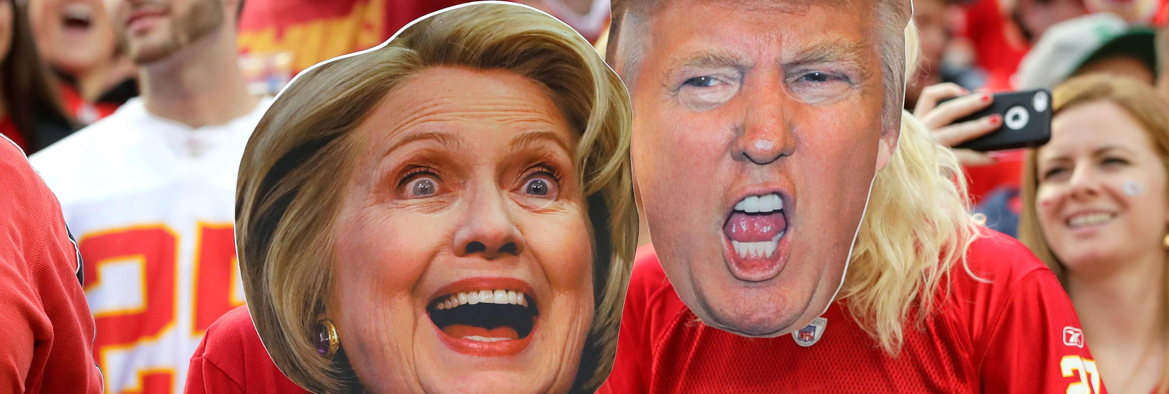 Todo lo que tienes que saber sobre los debates entre Trump y Clinton