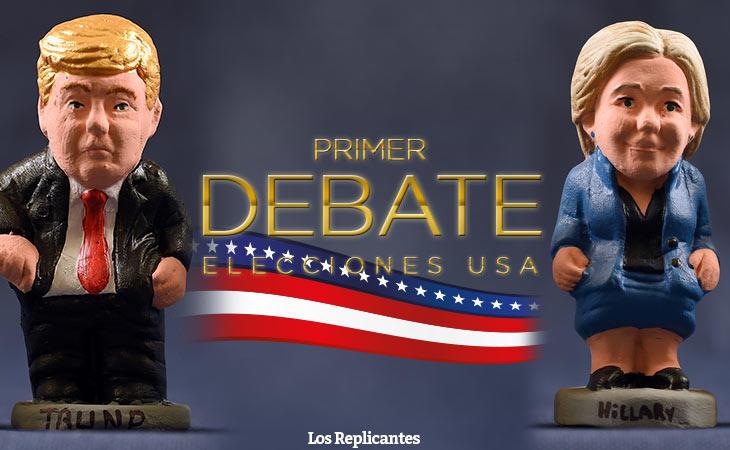 ¡Sigue y comenta en directo con nosotros el primer debate entre Trump y Clinton!