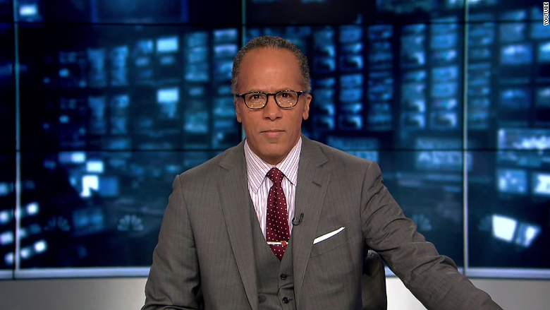 El moderador será @LesterHoltNBC, acusado de demócrata por Trump esta misma semana, pero realmente es republicano