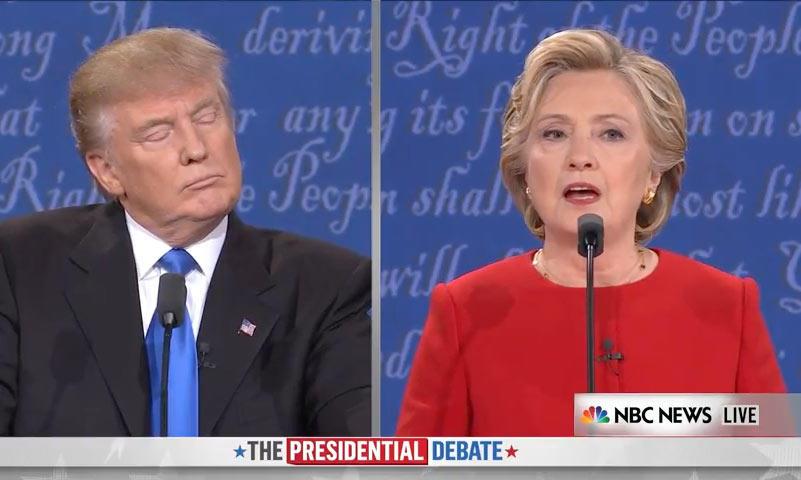 Clinton: 'He conocido a muchos trabajadores a los que tú no has pagado'. 'Quizás no estaba satisfecho con su trabajo', responde Trump.