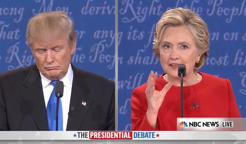 Clinton: 'Me quedé en shock cuando Donald invitó públicamente a Putin a hackear a americanos'