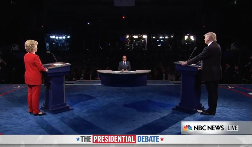 El debate finaliza citando a los espectadores a la próxima cita, el 4 de octubre, con los aspirantes a la Vicepresidencia