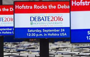 Sigue y comenta en directo el primer debate entre Trump y Clinton
