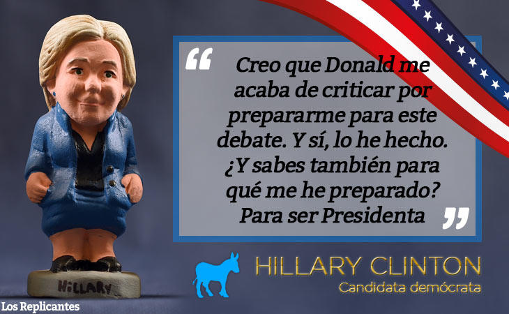 Clinton cuenta con experiencia política, al contrario que Trump