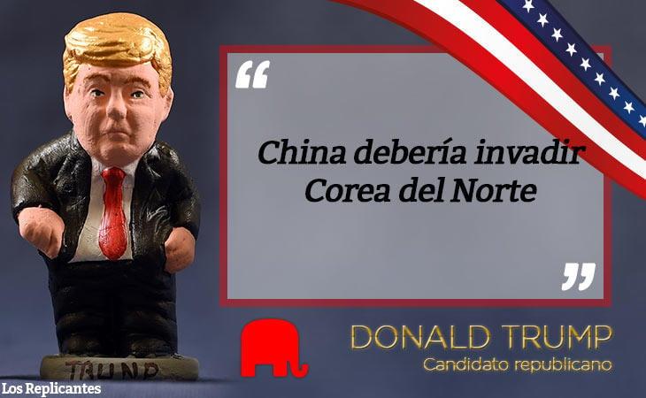 Trump se desentiende de los problemas del mundo