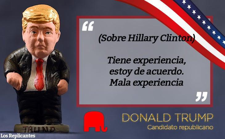 Trump, la voz de la experiencia