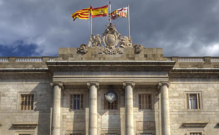 La CUP quiere retirar las banderas españolas de los edificios municipales