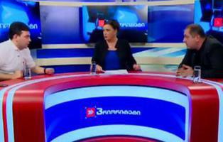 Ni Trump ni Hillary, dos políticos georgianos se enzarzan a golpes en pleno debate