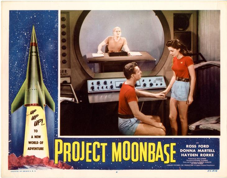 Cartel promocional de 'Perdidos en la Luna'.