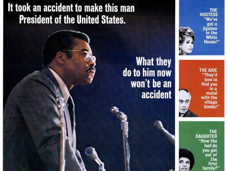 Fragmento del cartel de la película 'The Man'.