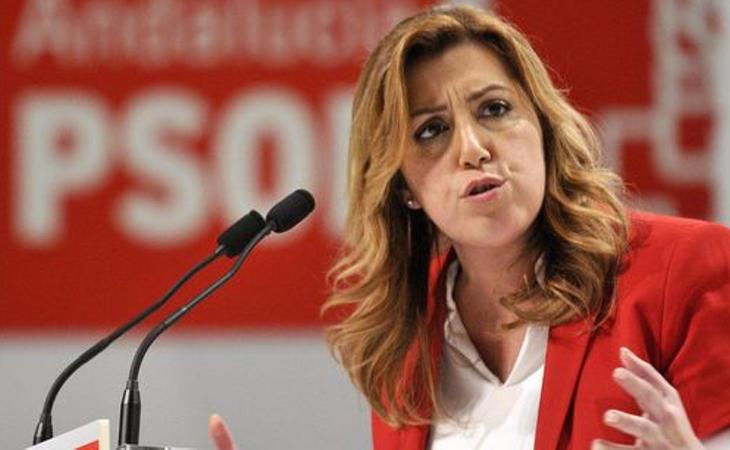 Susana Díaz lidera el bando antisanchista