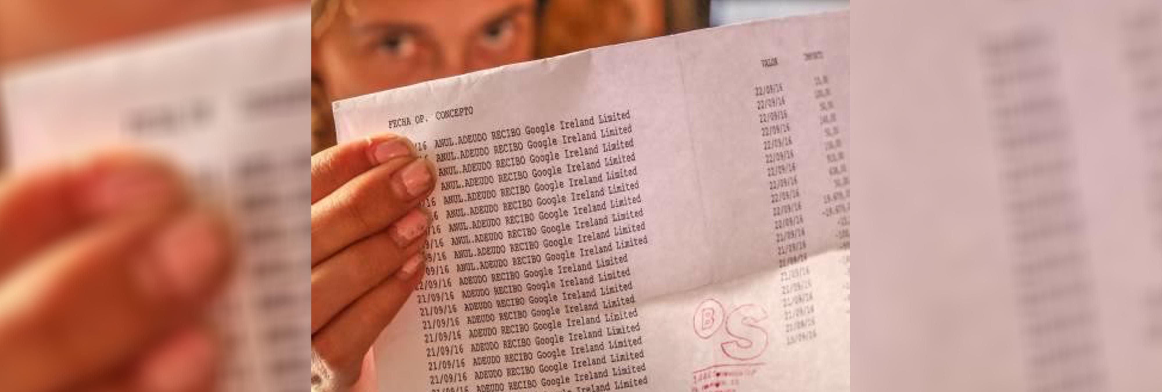 Niño de 12 años debe 100.000 euros a Google