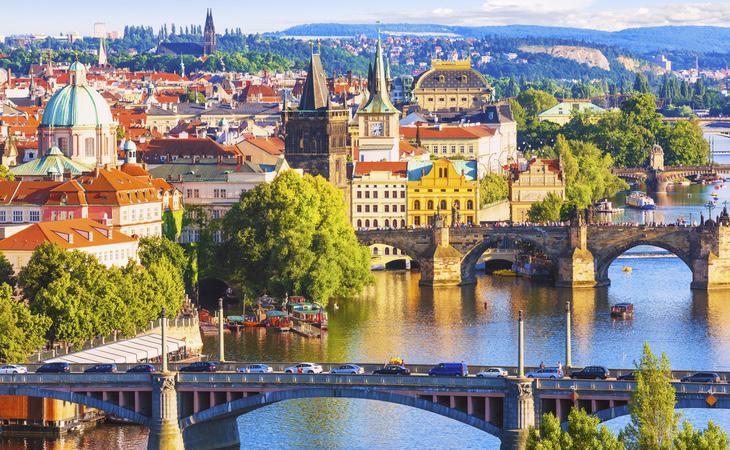 Praga está considerada como la ciudad más bonita del mundo