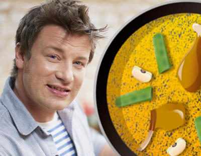 Las redes se revolucionan con el chef Jamie Oliver y su paella con chorizo