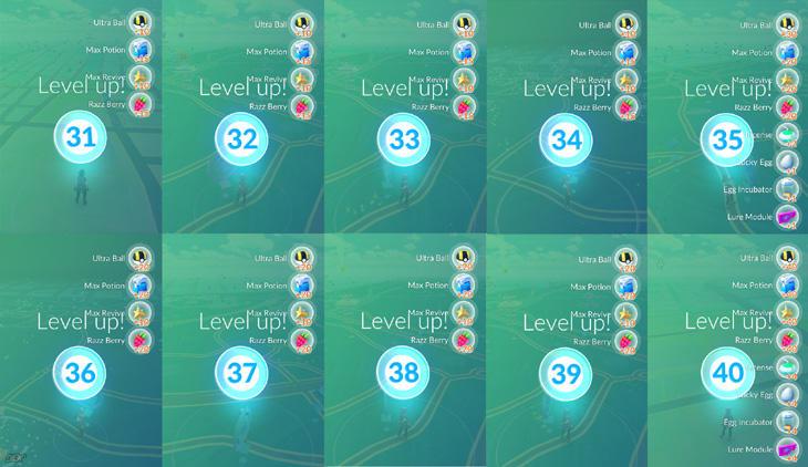 Recompensas no solo por subir nivel sería algo bueno para el juego.