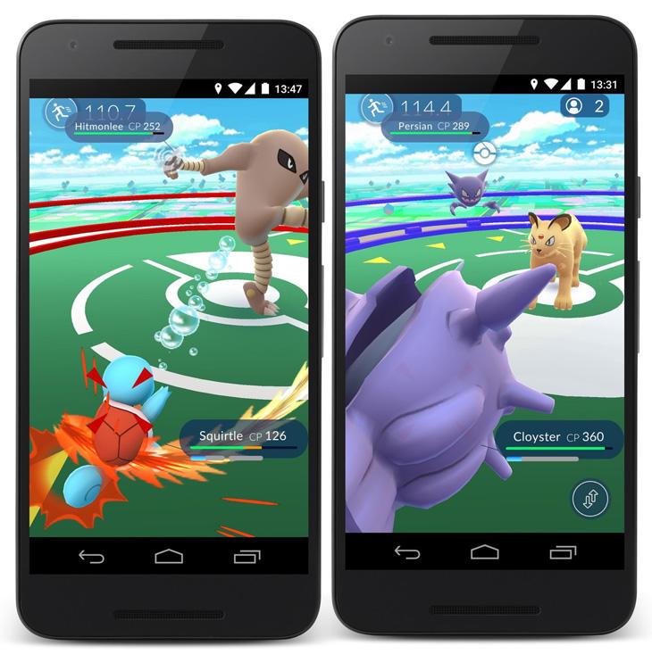 Combatir contra otros entrenadores un añadido obligado en 'Pokémon Go'.