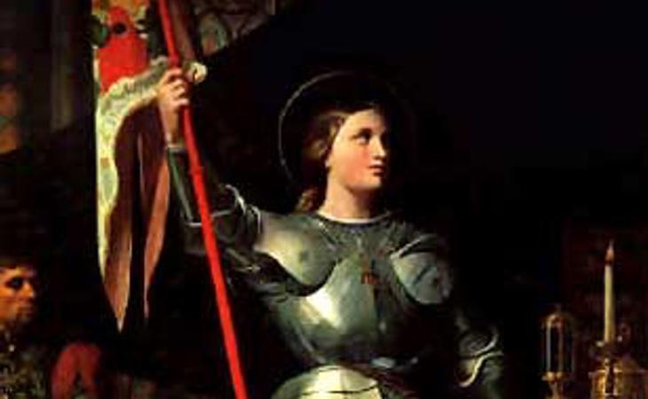 Juana de Arco lideró las tropas francesas
