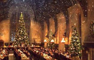 Ya puedes cenar en el Gran Comedor de Hogwarts por Navidad
