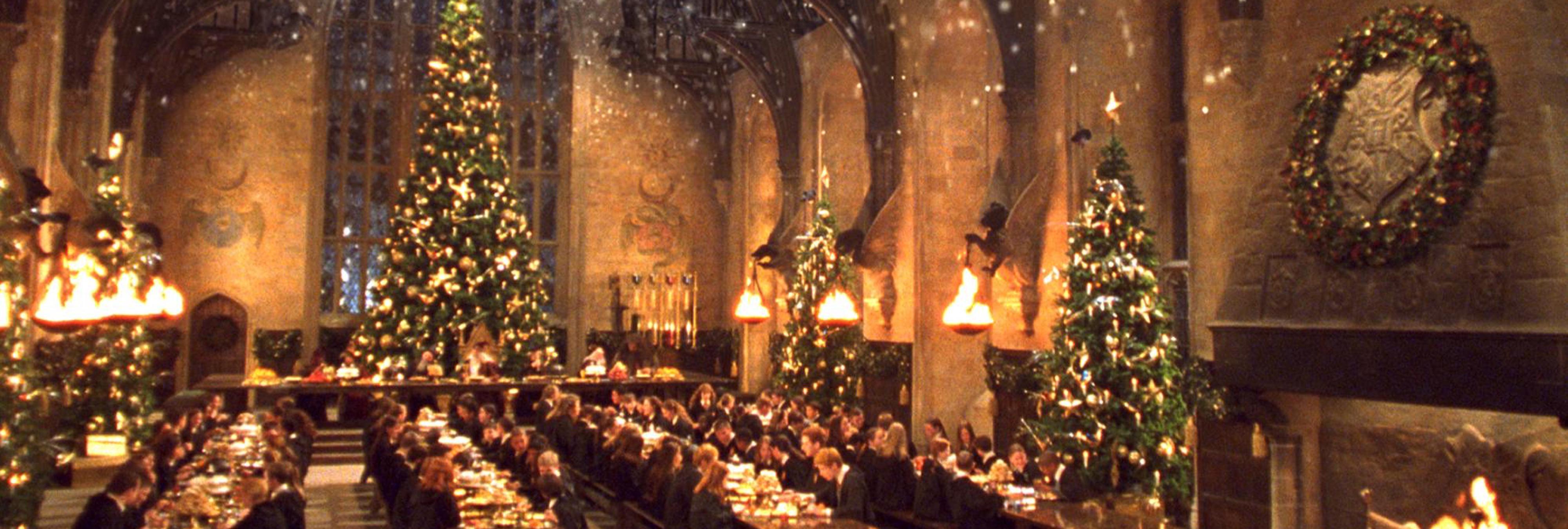 Ya puedes cenar en el gran comedor de hogwarts por navidad for Comedor harry potter