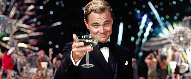 DiCaprio y los efectos visuales fueron lo mejor de 'El gran Gatsby'.