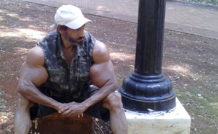 Segato quiere aumentar en 10 centímetros el tamaño actual de sus brazos