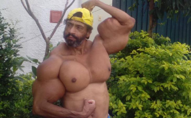 Valdir Segato presume de sus músculos en Instagram