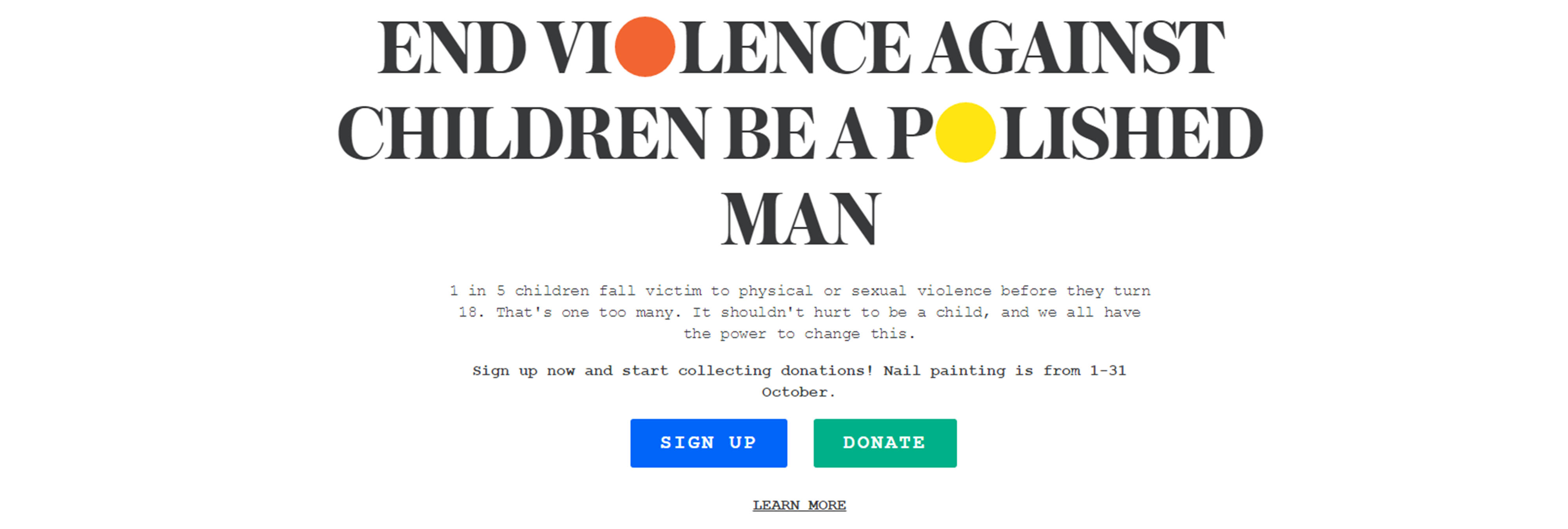 Polished man, hombres que se pintan una uña para luchar contra el abuso infantil