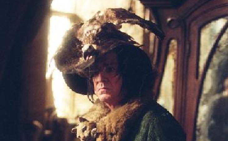Pagaríamos por que Snape siempre fuera vestido así