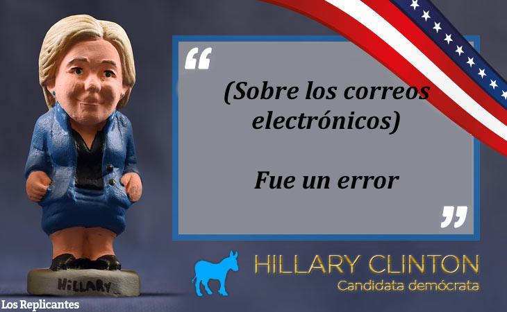 Clinton pide perdón