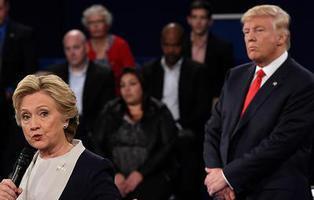 El segundo debate Trump-Clinton, en 20 contundentes frases