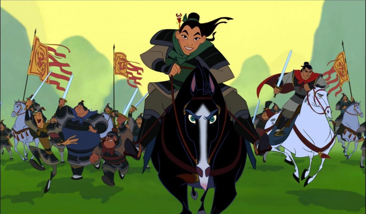 Mulán se alistó en el ejército a escondidas