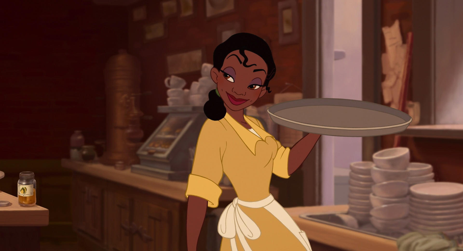 Tiana, working class black woman