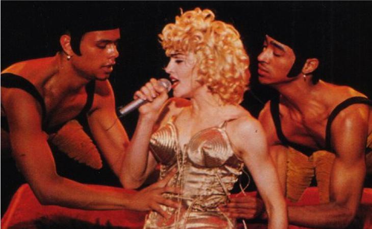 Fue la primera vez que Madonna llevó el icónico sujetador de conos