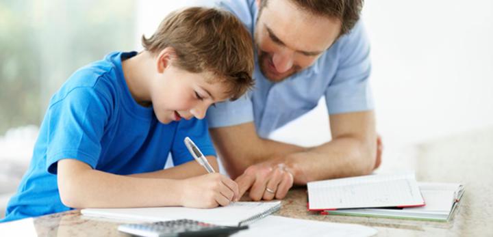 Los deberes logran que los padres pasen tiempo con sus hijos