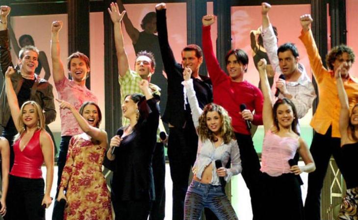 Los chicos de 'Operación Triunfo' sobre el escenario