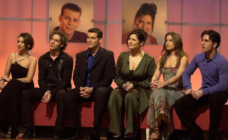 Chenoa, Bisbal, Manu Tenorio, Rosa, Verónica y Bustamante, finalistas de 'OT 1'