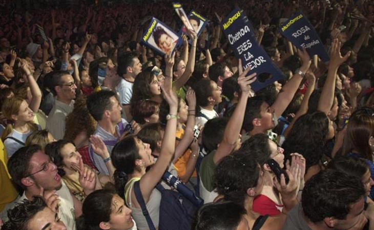 Los conciertos de 'OT 1' fueron multitudinarios