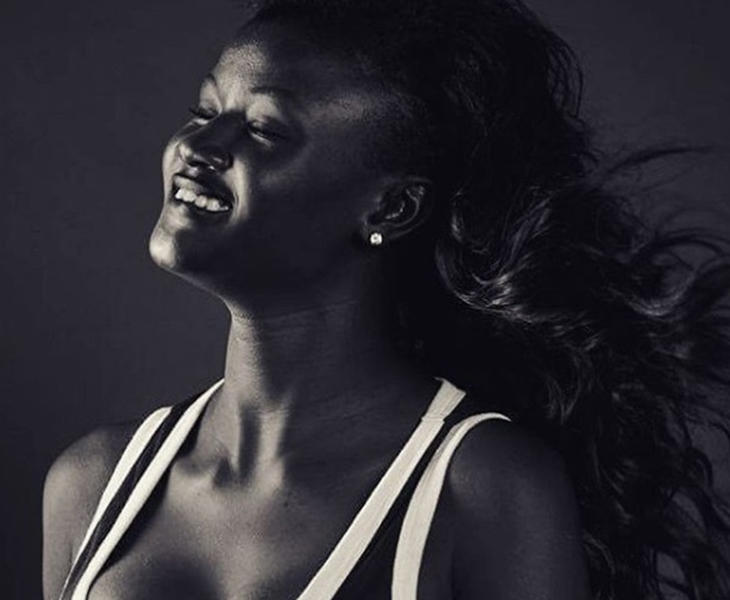 Diop es una joven senegalesa, famosa también en redes sociales