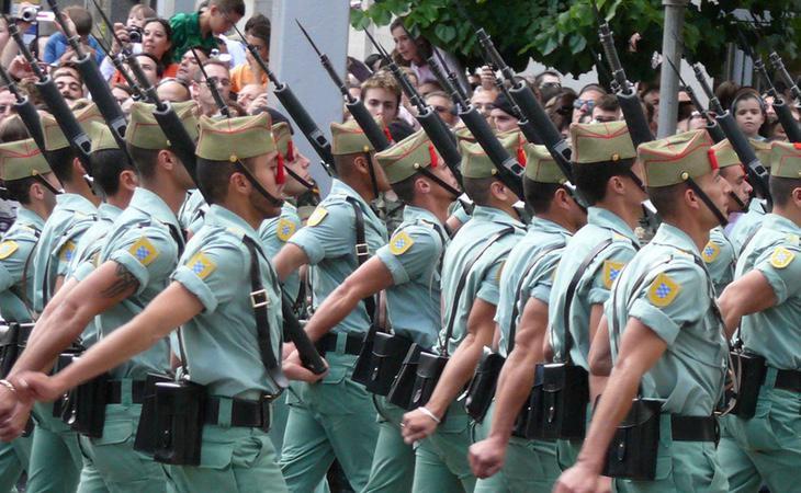 Todos los cuerpos de las Fuerzas Armadas salen a desfilar el 12 de octubre