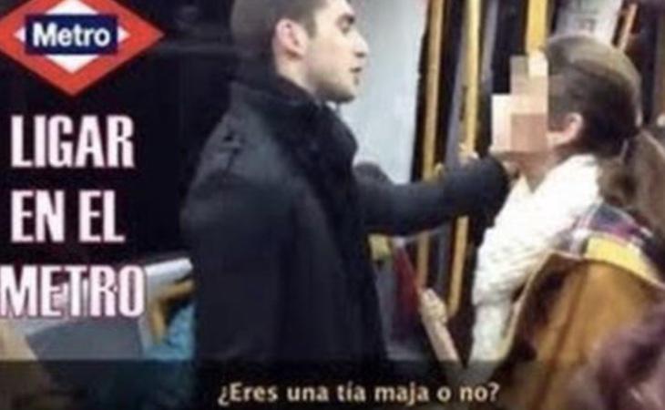 Captura de uno de los vídeos de Álvaro Reyes