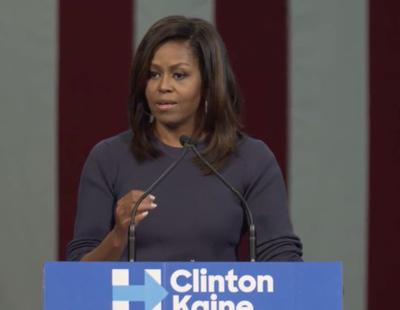 Michelle Obama responde al polémico vídeo de Trump