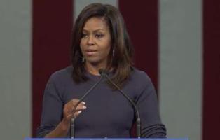 Michelle Obama responde al polémico vídeo de Trump
