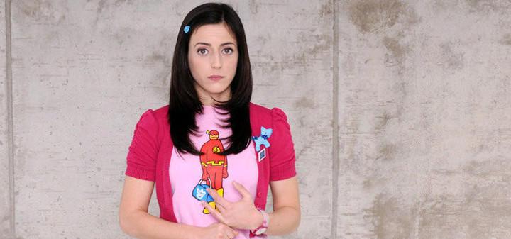 Ruth Núñez interpretaba a Lola en 'Frágiles'