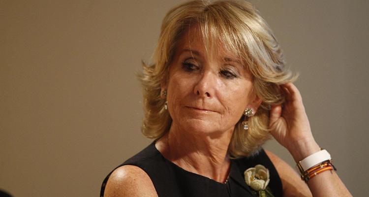 Esperanza Aguirre será llamada a declarar en el juicio