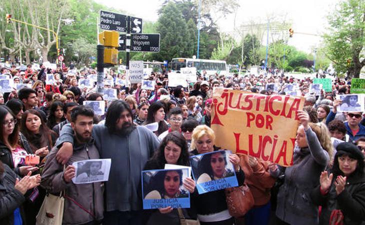 El día 19 de octubre la organización 'Ni una menos' ha convocado una marcha