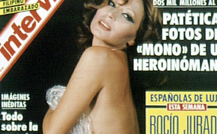Rocío Jurado también se desnudó para Interviú