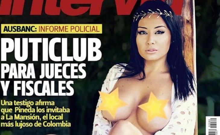 Una evidentemente retocada Lorena de Souza apareció en mayo en portada