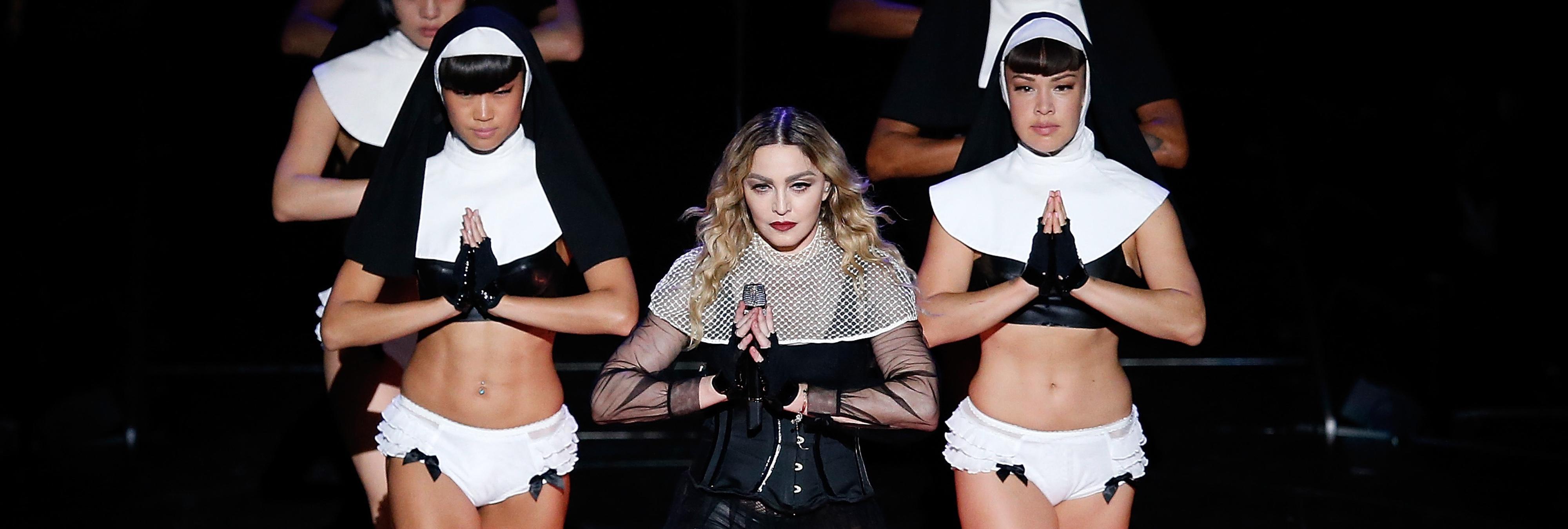 Madonna promete hacer una mamada a todo el que vote por Hillary Clinton
