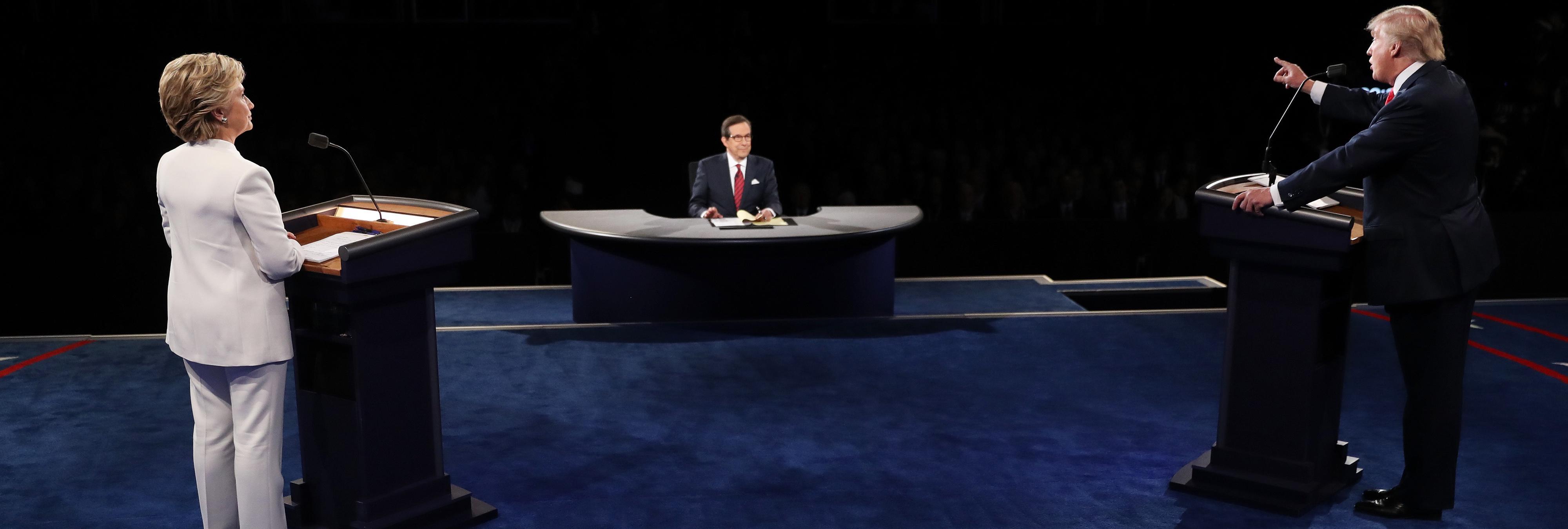 Lo mejores memes del tercer debate Trump vs. Clinton